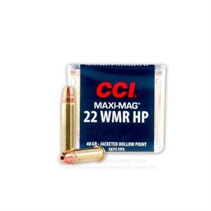 CCI MUNITION 22WMR MAG HP MAXI MAG 0024