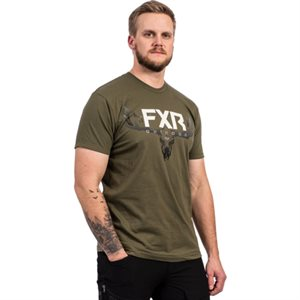 CHANDAIL ANTLER T-SHIRT 21 ARMY / BONE 212075-7501-13