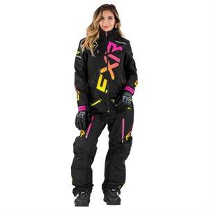 Monosuit CX FAST Femme black / fushia / hi vis