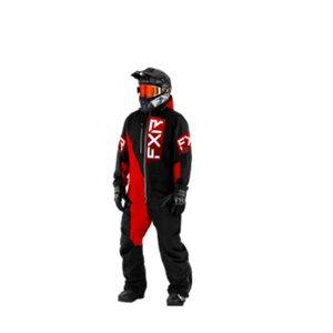 FXR RECRUIT F.A.S.T. INS MONOSUIT HOMME BLACK / RED