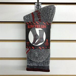 Chaussettes gris 9-11 2 paires
