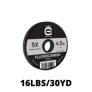 LEADER MATERIAL FLUOROCARBON 16LBS
