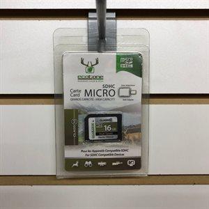 Carte micro SDHC 16GB classe 10
