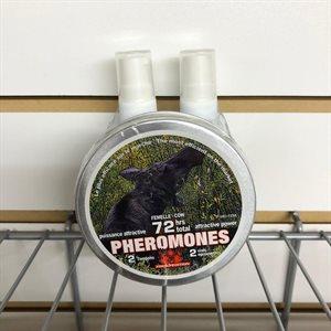 Ens. phéromones + 2 activateurs orignal femelle