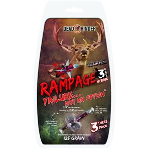 Pointes de chasse Rampage 125gr