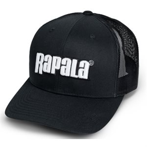 CASQUETTE CLASSIC MESH BACK CAP BLACK RCMBB