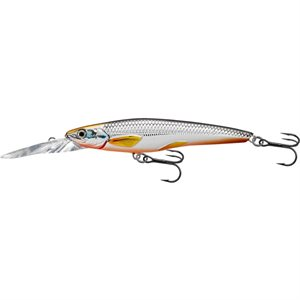 Poisson nageur Smelt Jerkbait Deep silver / orange